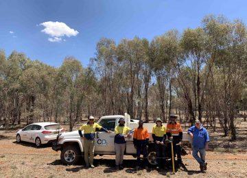 CO2 Australia at Condobolin NSW