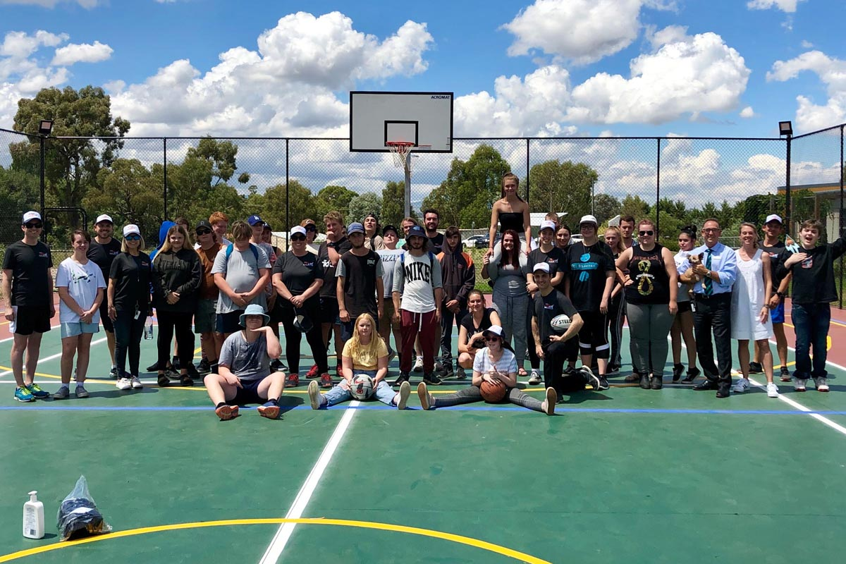 New Multi-sports Court Enhances Innovative Learning Opportunities for Students