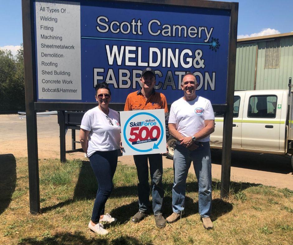 Scott Camery - SkillForce 500 Skillset