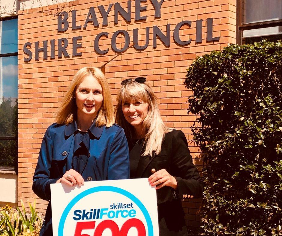 Blayney Shire Council - SkillForce500 - Skillset