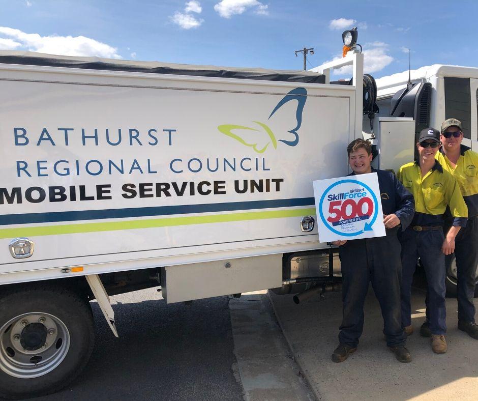 Bathurst Regional Council - SkillForce500 - Skillset