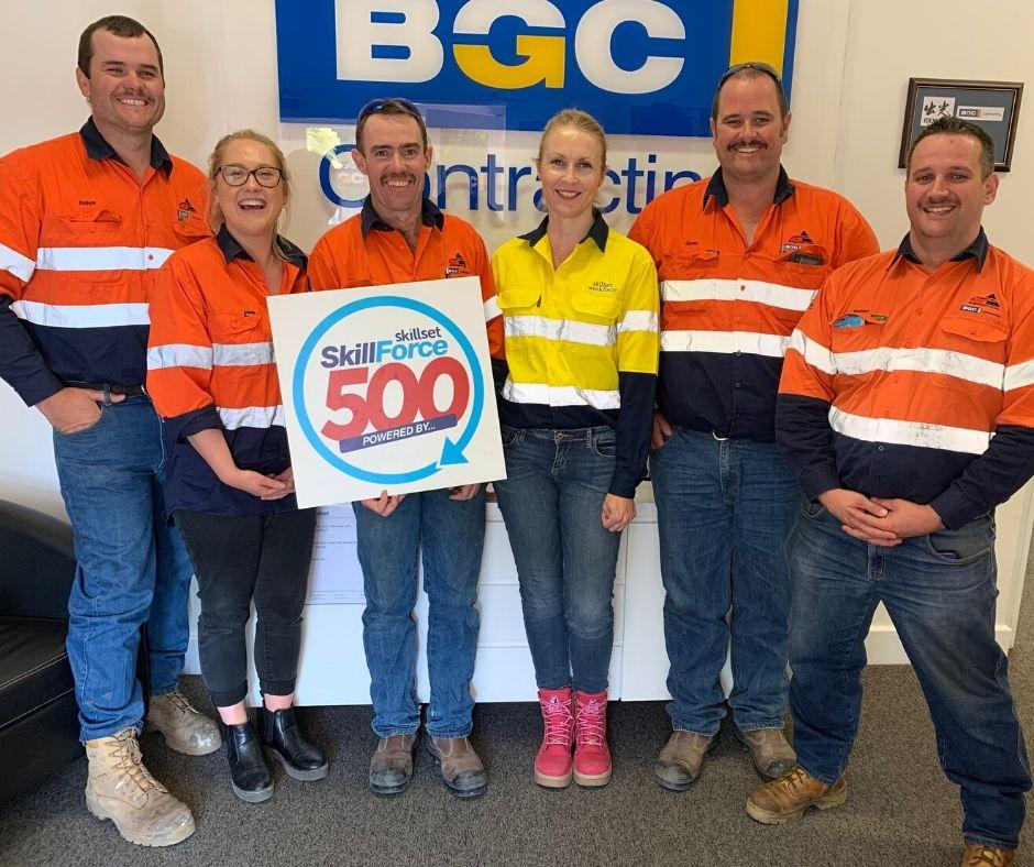 BGC Contracting - SkillForce500 Skillset