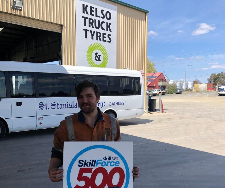 Kelso Truck Tyres - SkillForce500 Skillset