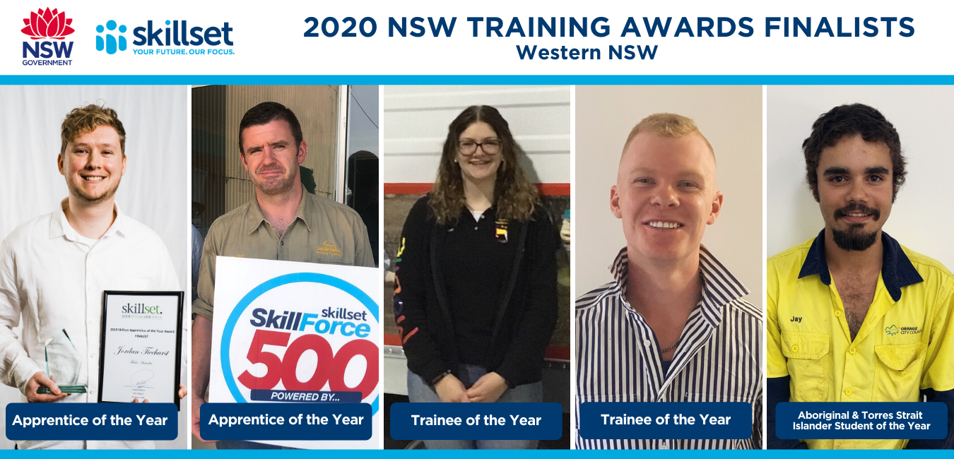 Western NSW Training Awards Finalists Announced
